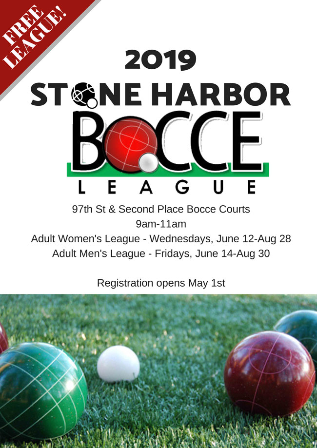 Stone Harbor Bocce League