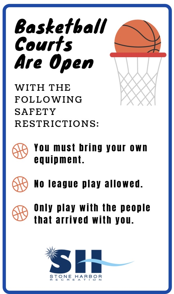 Basketball Courts are Open
