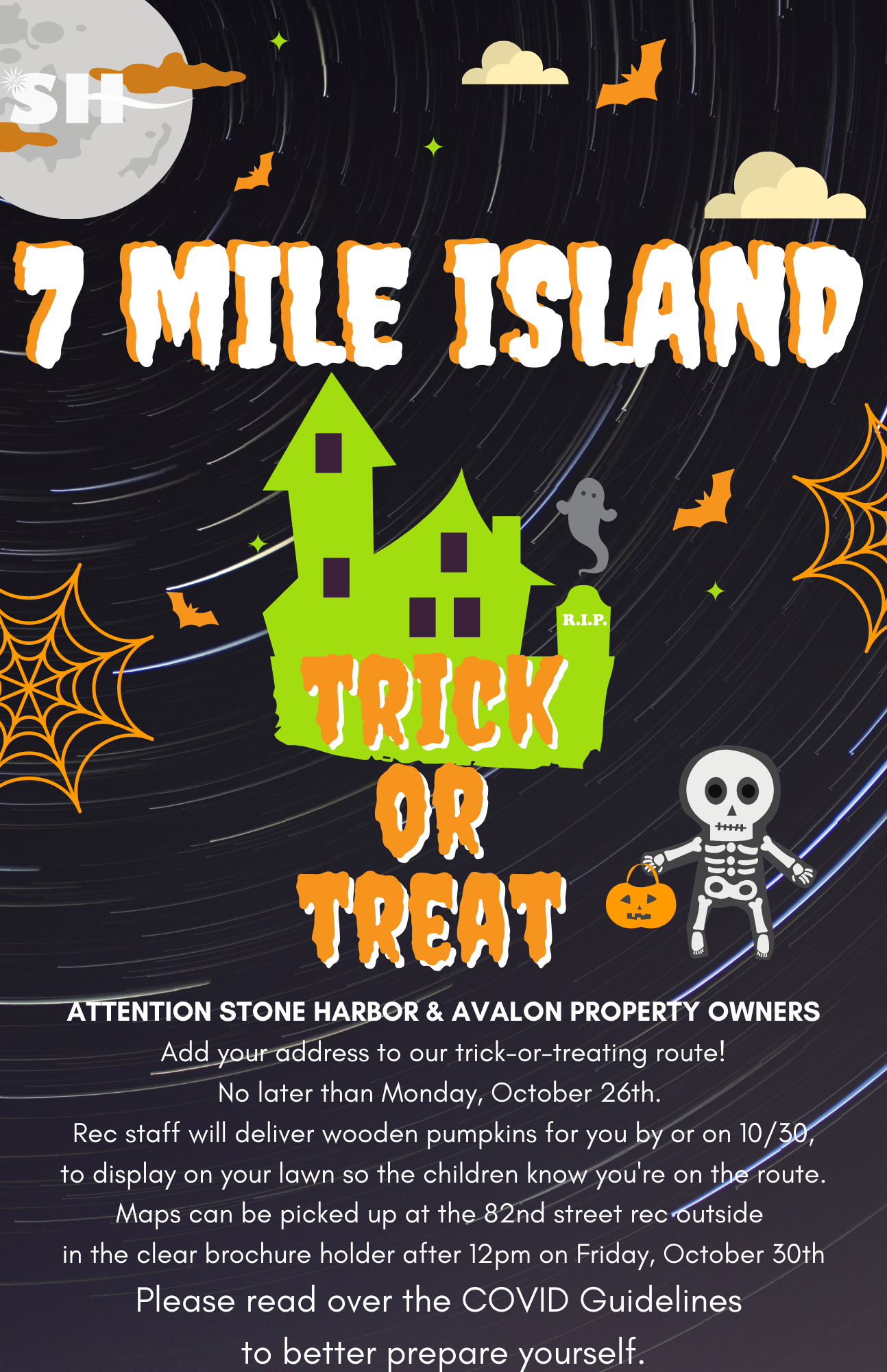 7 Mile Island Halloween House Registration